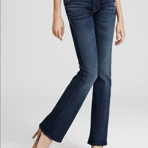 7FAMK Kimmie Bootcut Whiskered Jeans. 24x31
